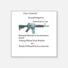 pro 2nd amendment, anti Obama,pro gun Sticker