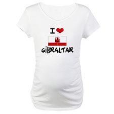 I HEART GIBRALTAR FLAG Shirt