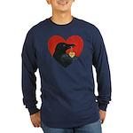 CrowLokDARK1050 Long Sleeve T-Shirt