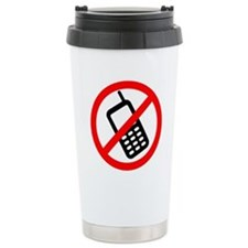 No Cellphones Travel Mug