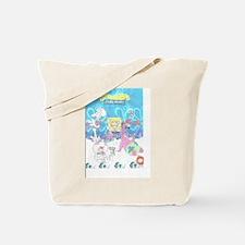 spongebob getting stoned Tote Bag