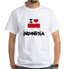 I HEART INDONESIA FLAG T-Shirt