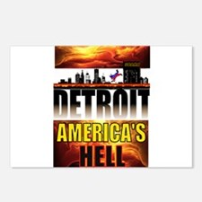 DETROIT HELL Postcards (Package of 8)