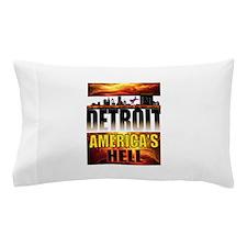 DETROIT HELL Pillow Case