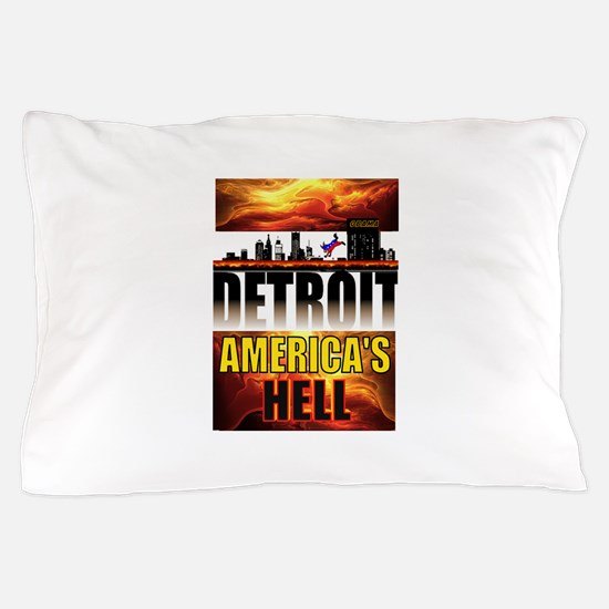 DETROIT HELL Pillow Case