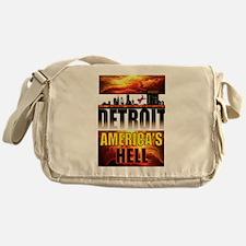 DETROIT HELL Messenger Bag