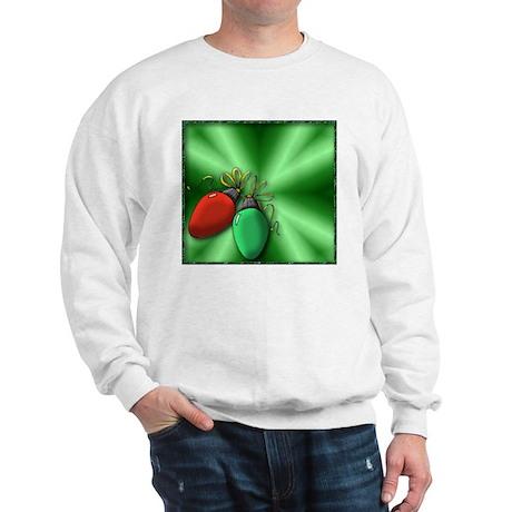 Christmas bulbs Sweatshirt