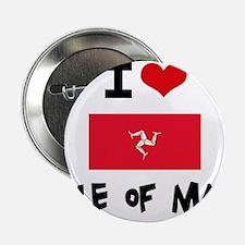 "I HEART ISLE OF MAN FLAG 2.25"" Button"