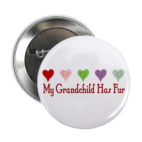 "Furry Grandchild 2.25"" Button (10 pack)"