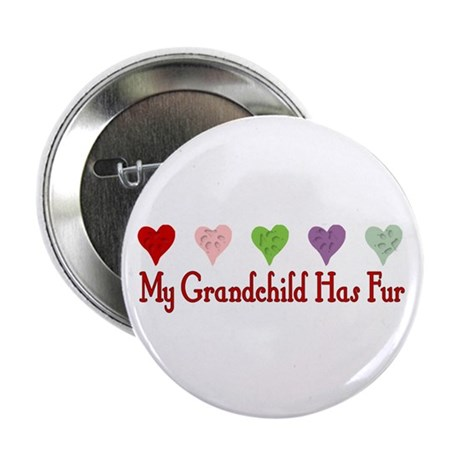 "Furry Grandchild 2.25"" Button (100 pack)"