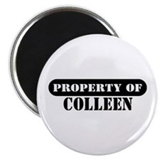 Property of Colleen Magnet