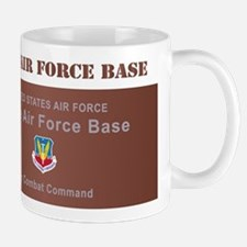 Beale Air Force Base with Text Mug