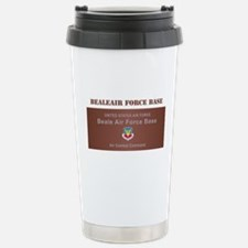 Beale Air Force Base with Text Travel Mug