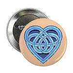 """Adanvdo Heartknot 2.25"""" Button (10 pack)"""