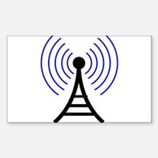 Radio Tower Signal Decal