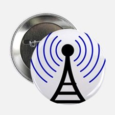 "Radio Tower Signal 2.25"" Button"