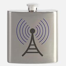 Radio Tower Signal Flask