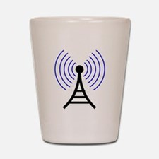 Radio Tower Signal Shot Glass
