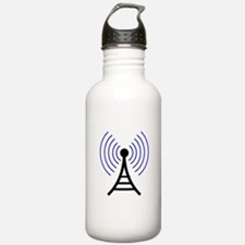 Radio Tower Signal Water Bottle
