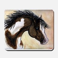 Wild Paint Horse Mousepad
