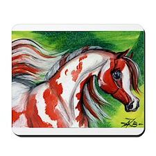 Koi Pinto Arabian Horse Mousepad
