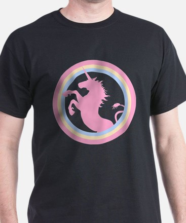 Retro Pink Unicorn T-Shirt
