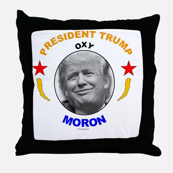 Cute Moron Throw Pillow