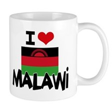 I HEART MALAWI FLAG Mug