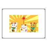Lucky cat Banners