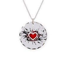 Heart - Love - Romance - Valentines Day Necklace