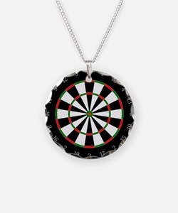 Dart Board Necklace
