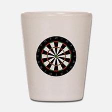 Dart Board Shot Glass