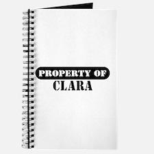 Property of Clara Journal