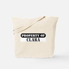 Property of Clara Tote Bag