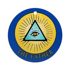 The Lord Father Christian Symbolism Ornament