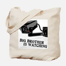 CCTV Big Brother Is Watching Tote Bag