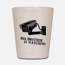 CCTV Big Brother Is Watching Shot Glass