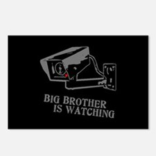 CCTV Big Brother Is Watching Postcards (Package of