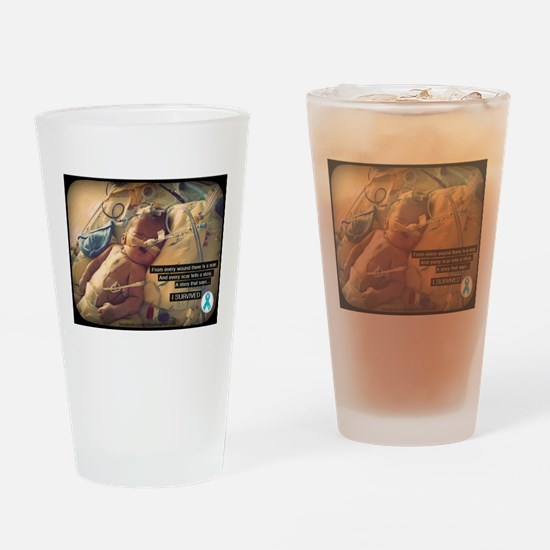 CDHscar01 Drinking Glass