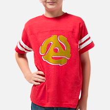 Vinyl Is Neat! Youth Football Shirt