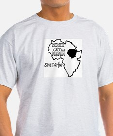 Save Darfur Ash Grey T-Shirt
