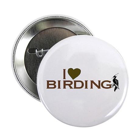 I Love Birding Button