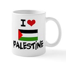 I HEART PALESTINE FLAG Mug