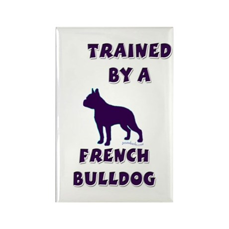 French Bulldog Ppl Rectangle Magnet