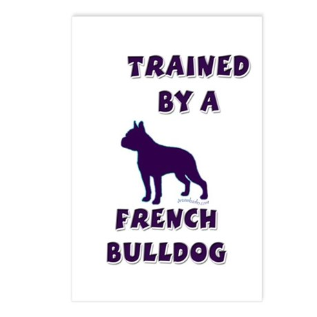 French Bulldog Ppl Postcards (Package of 8)
