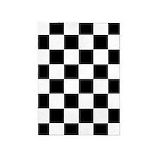 Checkerboard 5'x7'Area Rug