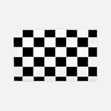 Checkerboard 3'x5' Area Rug