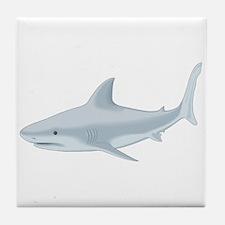 Bull Shark Tile Coaster