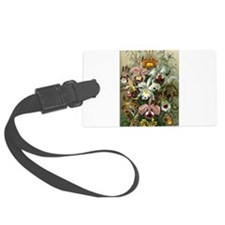Victorian Orchids Luggage Tag