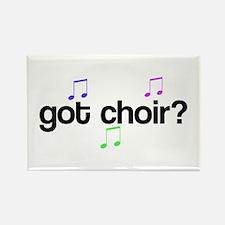 Got Choir Rectangle Magnet